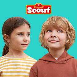 Mit Scout Designs geschminkte Kinder