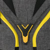 4You Motiv: Grey Yellow Zipper