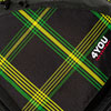 4You Motiv: Checker Black Green Yellow